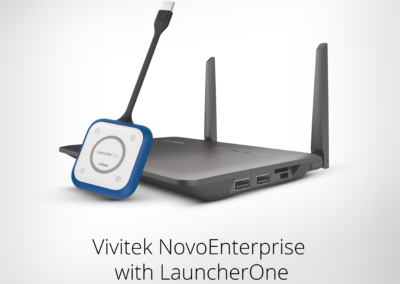 Vivitek NovoEnterprise with LauncherOne