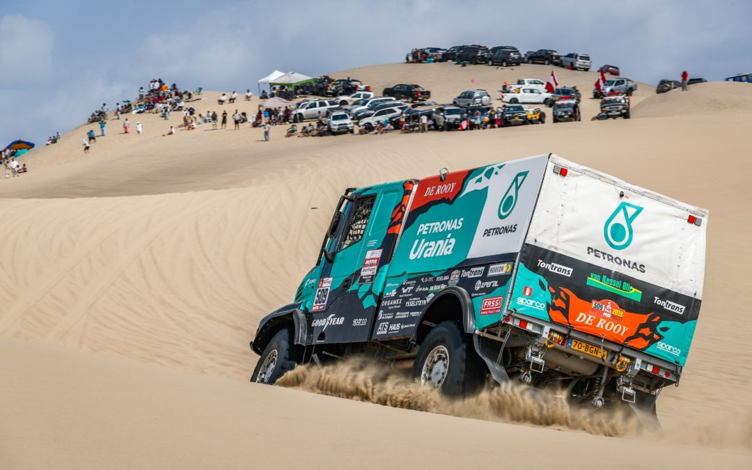 PETRONAS DE ROOY IVECO TEAM VIERFACH IN TOP 10 BEI RALLYE DAKAR 2019