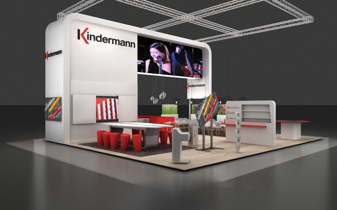 Kindermann at the ISE 2019 – Media technology further thought out