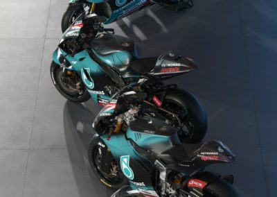 02_PETRONAS YAMAHA SEPANG RACING TEAM UNVEILS 2019 LIVERIES (3)