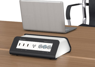 CablePort desk² duo Air Anwendung