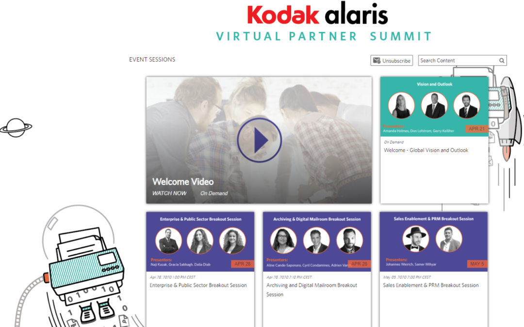 Das Kodak Alaris Partner Summit wird virtuell