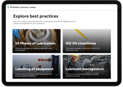 Explore best industrial practices with our e-tools