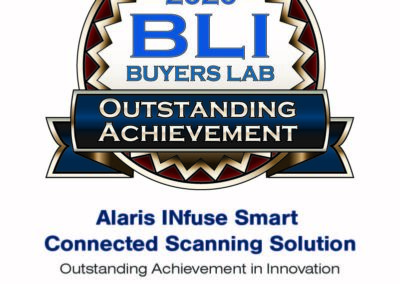 Seal - Alaris INfuse Smart Connected Scanning Solution OA Seal 2020 - All